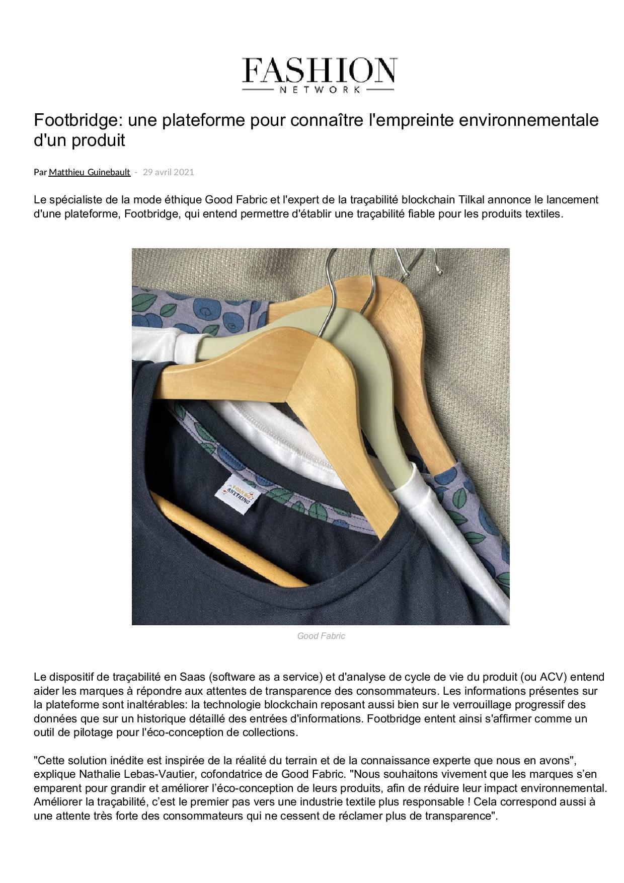 FNW 1298022 Footbridge une plateforme pour connaitre l empreinte environnementale d un produ 1 page 001