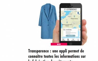 Transparence : une appli permet de connaitre toutes les informations sur la fabrication des vêtements